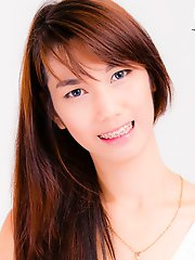 Pim is a true Bangkok beauty, tall, fair skin, beautiful body with long legs