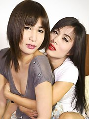 A smoking hot hardcore scene with two gorgeous young ladyboys!