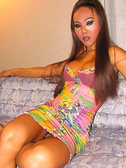 Hot Sticky Cum with Thai Tgirl Nomee!