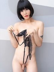 Say Hi to the beautifull japanese shemale Yoko