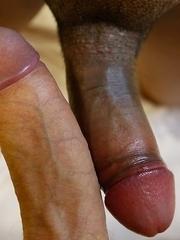 18yo Thai ladyboy Pon gets rope of cum across the face