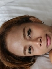 Hot Thai ladyboy Mond gets plastered in jizz after getting assfucked