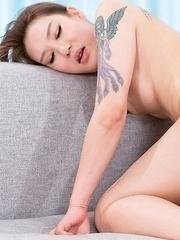 Rui Matsushita Threesome Bareback Sex